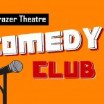 Comedy club event banner for web